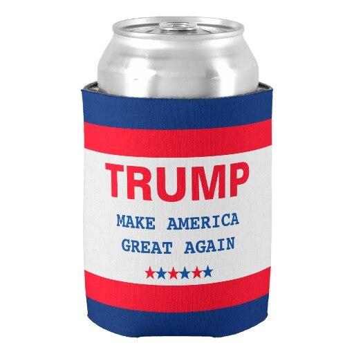 Popular font b Trump b font Make America Great Again 2016 Cooler New Hot Beer Can