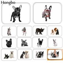цена на Hongbo Cartoon Lovely Dogs Print Anti-slip Floor Mat Outdoor Rugs Animal Front Door Mats Kitchen Mat for Living Room