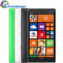 930 Оригинал Nokia Lumia 930 Mobile phone Qualcom 800 Quad core 2 ГБ RAM 32 ГБ ROM 20MP Камера Gorilla Glass Бесплатная Доставка доставка