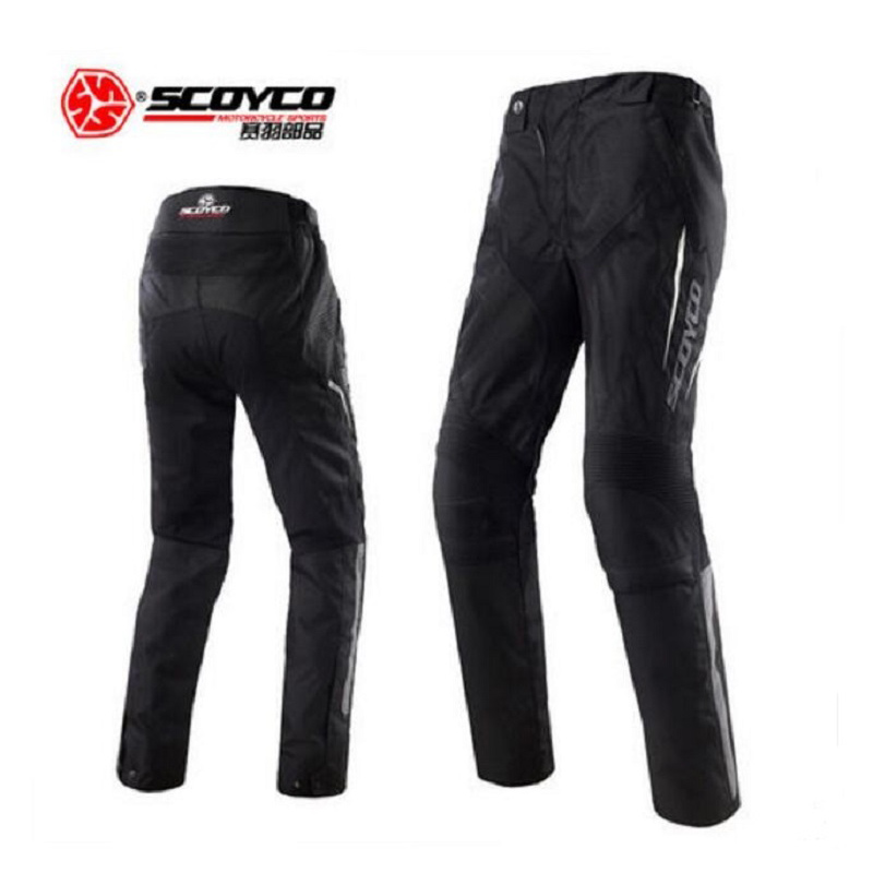 2018 New Winter warm SCOYCO motorcycle racing pants P018-2 reflective motorbike pant trousers of 600D Oxford Water repellent scoyco mens motorcycle pants racing trousers winter summer p028