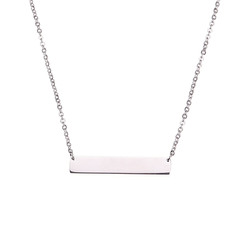 Detail Feedback Questions About Hot Personalized Blank Bar Pendant