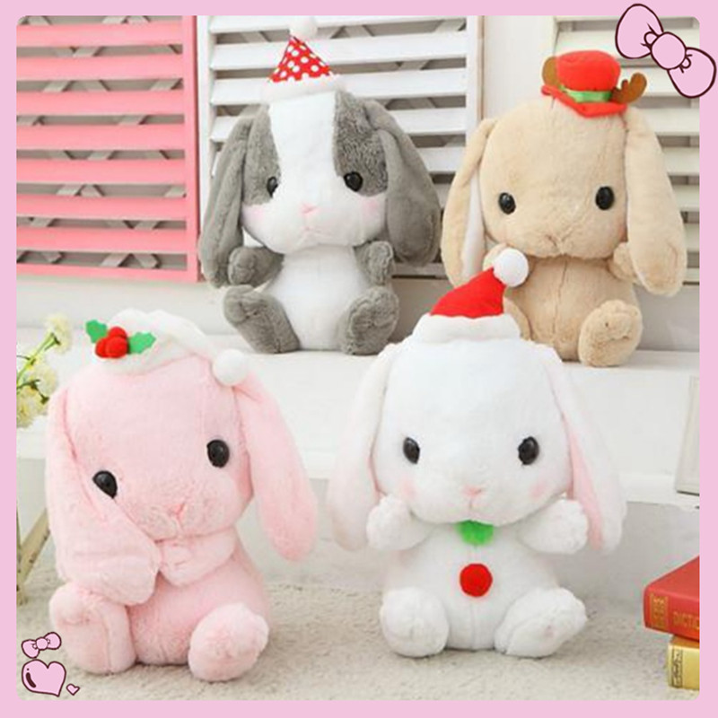 Miccidan Kawaii plush bunny mini stuffed animals toys rabbit plush mamas and papas toys for children birthday gifts sponge bob