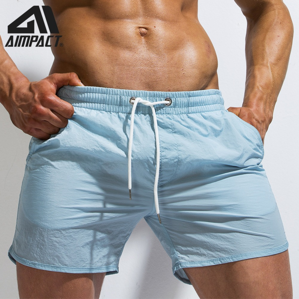 Imported From Abroad Men's Swim Trunks Quick Dry Swimsuits Beach Board Shorts Beachwear Shorts For Men Summer Holiday Surfing Male Swimming Am2173