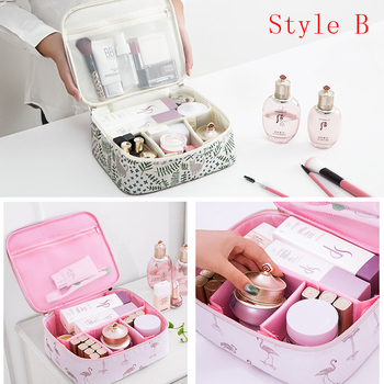 Brand organizer travel fashion lady cosmetics cosmetic bag beautician storage bags large capacity Women makeup bag H127 5