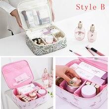 Brand Organizer Travel Cosmetics Bag