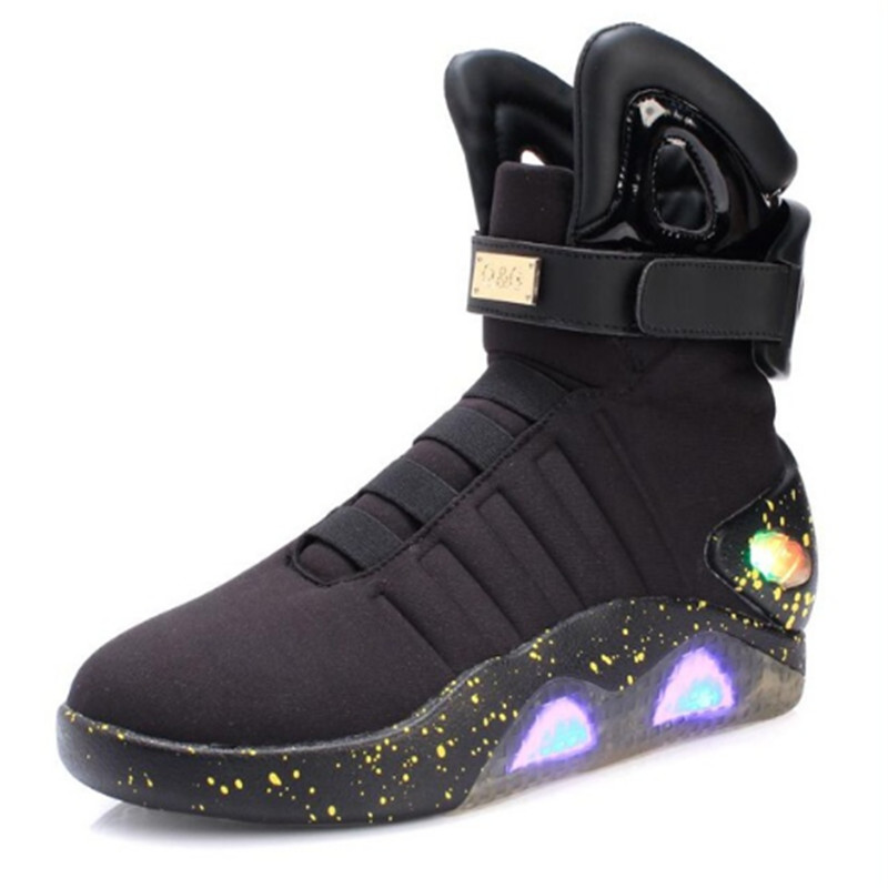 2019 New Led light Boots for Men,Women,Boys and Girls USB Rechargeable Glowing Shoes Man Fashion Shoes Cool Soldier Boots enfant2019 New Led light Boots for Men,Women,Boys and Girls USB Rechargeable Glowing Shoes Man Fashion Shoes Cool Soldier Boots enfant