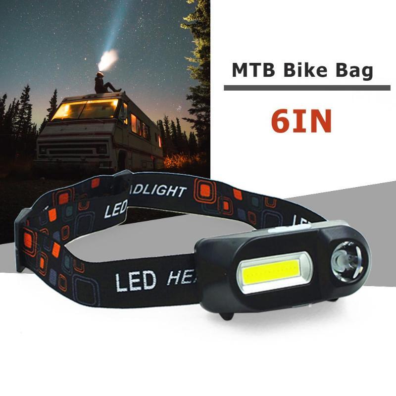 Mini COB LED Scheinwerfer Scheinwerfer Kopf Lampe Taschenlampe USB Aufladbare Taschenlampe Camping Wandern Nacht Angeln Licht