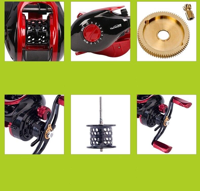 Tsurinoya xf50XF 150 carretel de pesca de