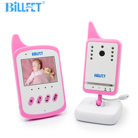 Battery Powered Baby Video Monitor with Camera for Baby Room Night Vision VOX Lullaby Baby Talkie baby nanny Radio Video Nanny