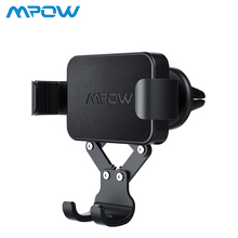 Mpow Car Phone Holder Air Vent Gravity Auto-Clamping Mount Stand Adjustable view angle Universal For 4-6.5inch Phones