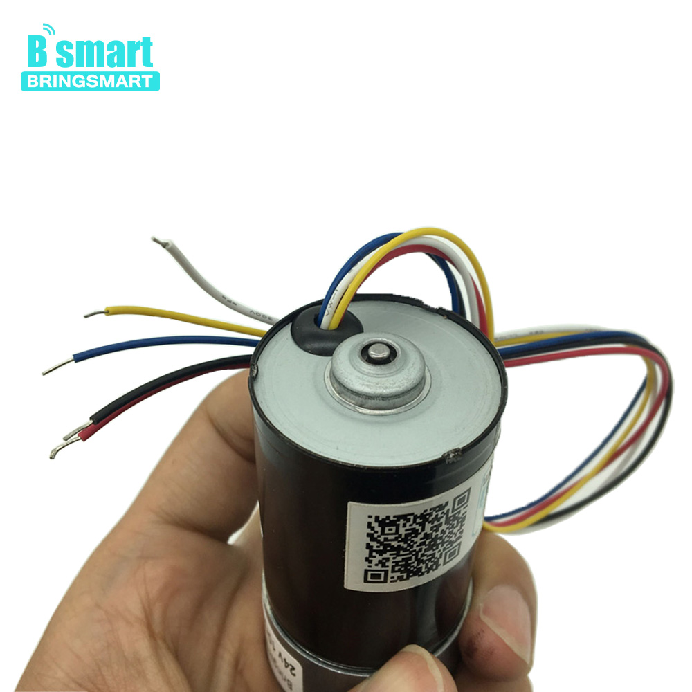 Bringsmart JGB37-3650 Brushless High Torque 24V Mini Motor Electric DC Motor for Toys Automatic Curtain12V  Reduction GearboxBringsmart JGB37-3650 Brushless High Torque 24V Mini Motor Electric DC Motor for Toys Automatic Curtain12V  Reduction Gearbox