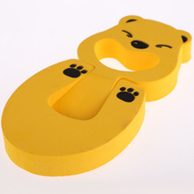 4pcs/Set Thick Child Door Stopper Cute Animal Cartoon Baby Safety Helper Door Stopper Guard Finger Protect Sets
