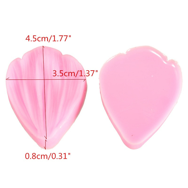 Chrysanthemum Flower Petals Shape Silicone Mold Fondant Chocolate cake tools Baking Cookie Moulds Decorating Molds F0681 in Cake Molds from Home Garden