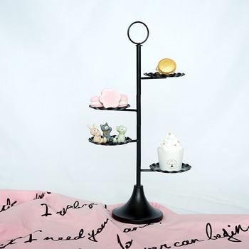 black cake stand quality metal wedding cake tools display table decorator home decoration bakeware dinnerware
