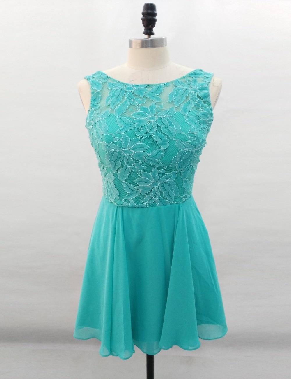 Popular Short Turquoise Bridesmaid Dress-Buy Cheap Short ...