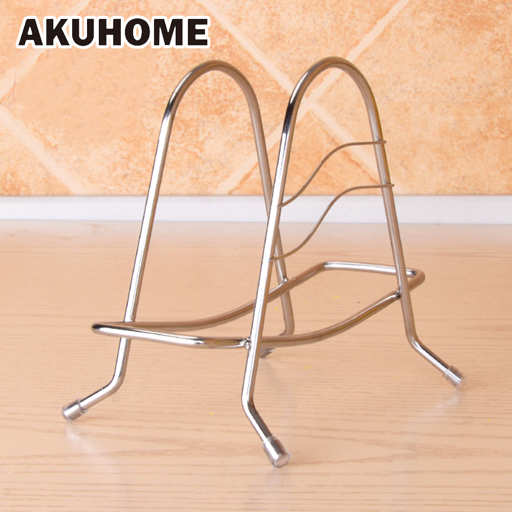 Multifunctional Kitchen Stainless Steel Cutting Board Rack Kitchen Knife Shelf Creative Thickened Dish Rack Drain Board Rack
