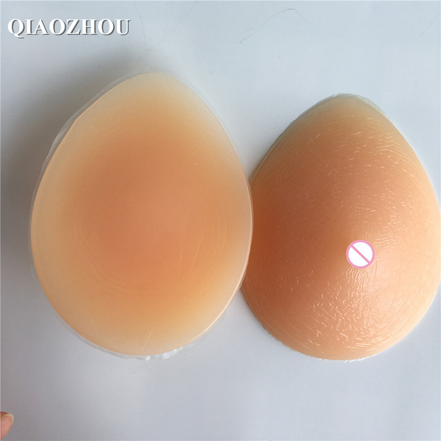 1000 G D Cup Large Fake Breast Forms For Female Bra Mastectomy Natural Crossdresser Shemale Silicone