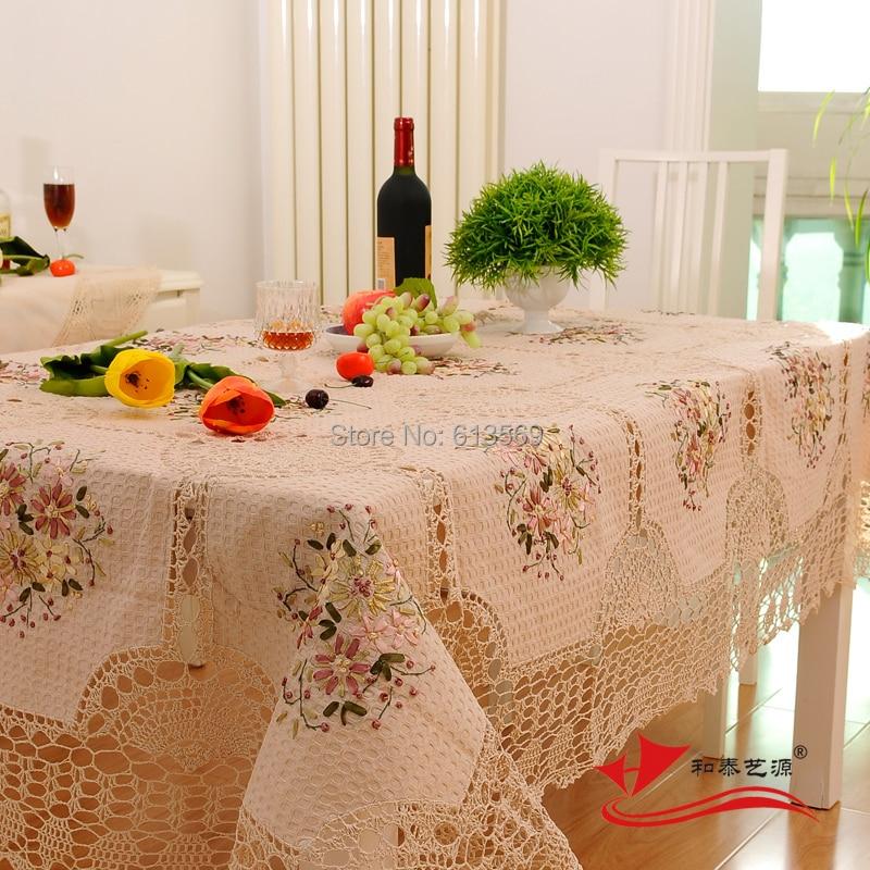 Achetez En Gros Main Crochet Nappe En Ligne Des Grossistes Main Crochet Nappe Chinois
