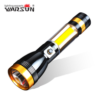 WARSUN Portable Linterna Led 3 Modes Lanterna Led Tactical Flashlight Outdoor Camping Torch Zaklamp Gladiator Flash