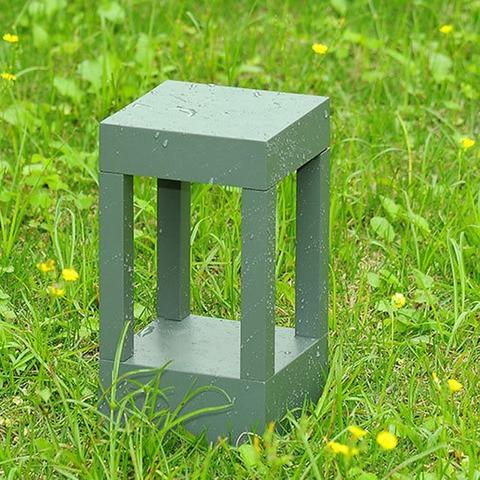 becostar aluminio cinza preto ao ar livre