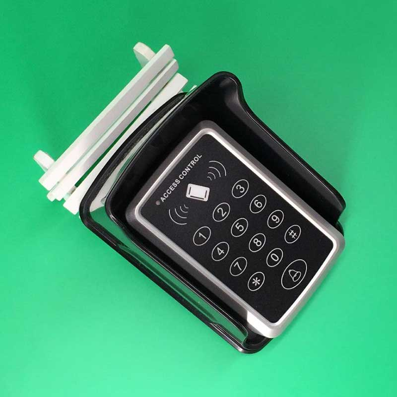 125KHz One 1 Door RFID Card Access Control Keypad Support 1000 Users with Rain Cover +1125kHz Proximity ID