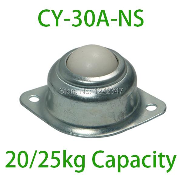 CY-30A-NS glass production handling transmit  line Plastic Ball Steel Shell 20 / 25kgs loading capacity Ball transfer unit
