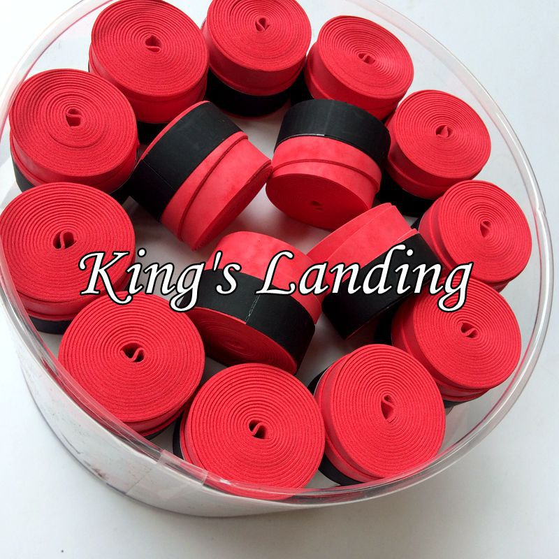 Free shipping 60 pcs/lotTennis grip OEM/YY(Red)tennis overgrip,badminton grip,badminton overgrip
