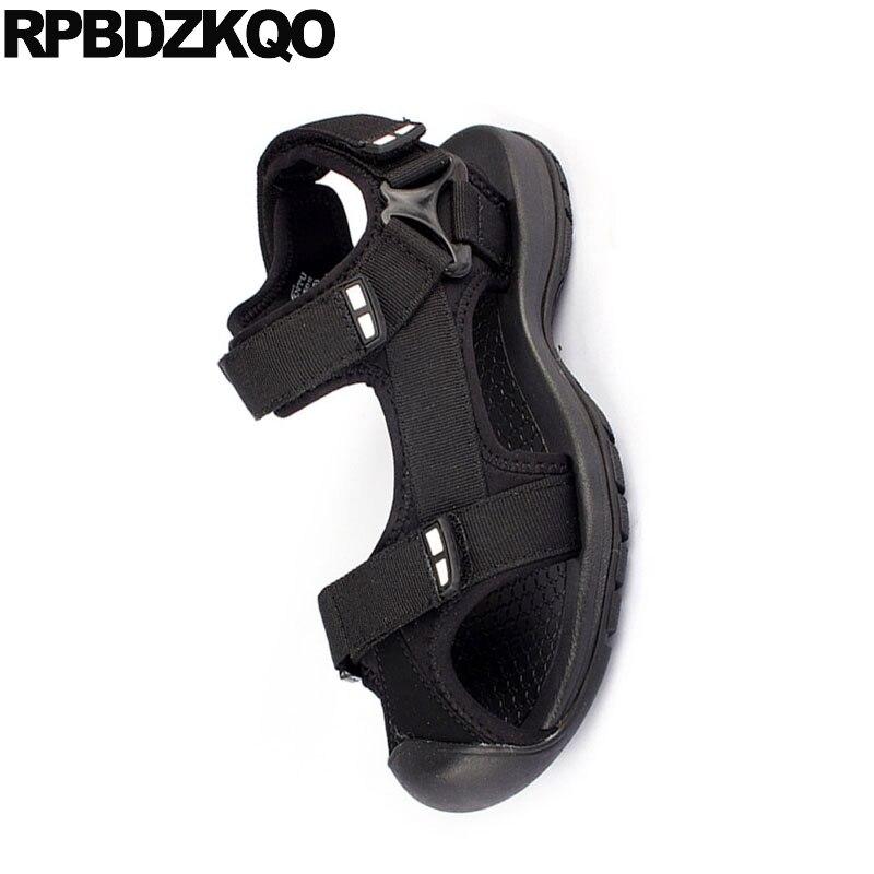 Outdoor Fashion Closed Toe Sandals Sneakers Size 45 Flat Black Beach Large Native Plus Mens Mesh Shoes Designer Sport Summer Big 6