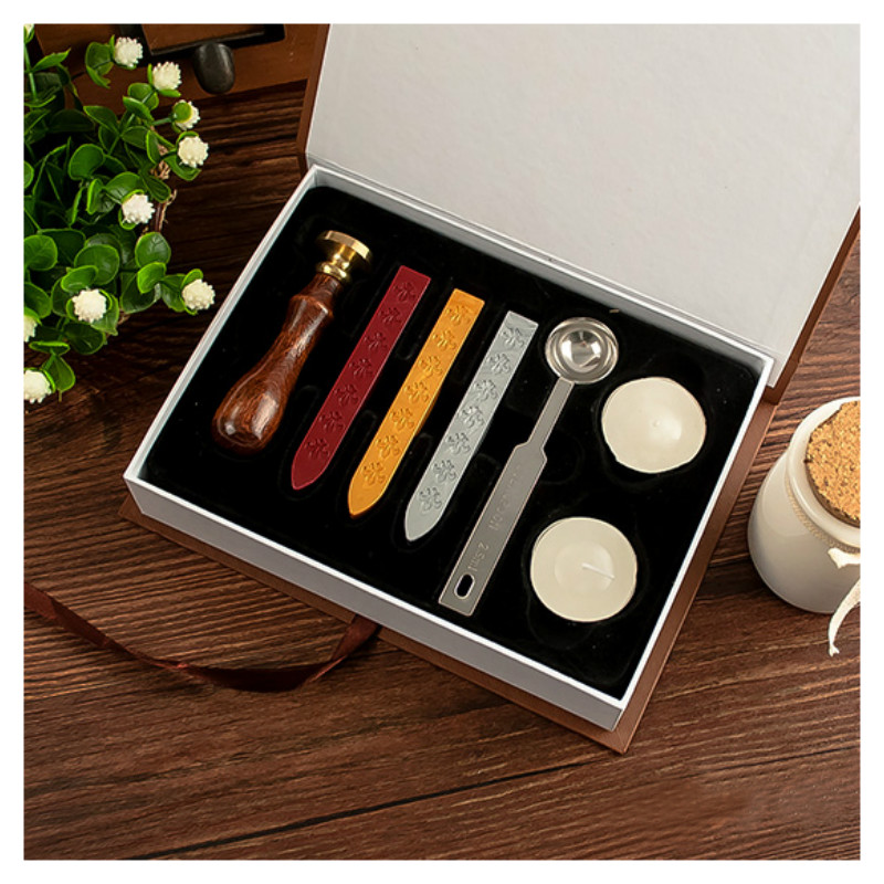 цены Personalized Harry Potter Hogwarts School Badge Wax Seal Stamp w/Wax Set New