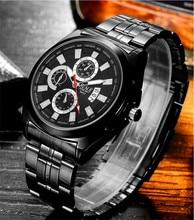BOSCK-5452 новый роскошный мужские часы, часы с высокого класса бренда запястье, водонепроницаемые часы, модные часы досуга календарь