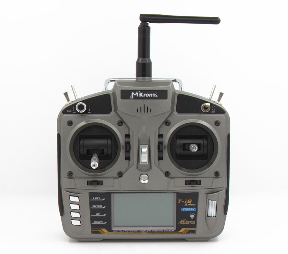 MKron T i6 2,4 GHz 6 CH Radio DSMX Sender W/S603 Fernbedienung Empfänger VS Frsky sender Q X7 QX7 SPEKTRUM Fernbedienung-in Teile & Zubehör aus Spielzeug und Hobbys bei  Gruppe 1