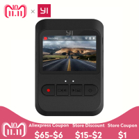YI Mini Dash Camera International Version 140 Ultra Wide angle lens 1080p 30fps Discreet Design 2.0 LCD Screen