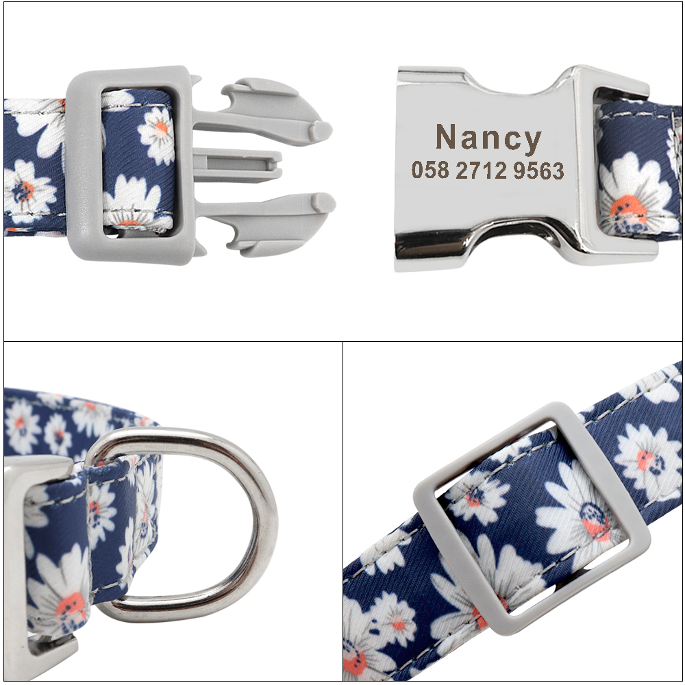 Accessory - Personalised  Pet Collar  Free Engraving