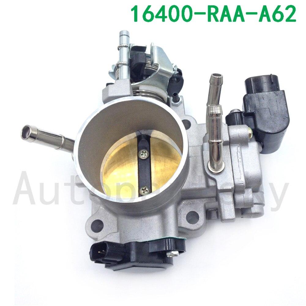 [Livraison rapide] 16400-RAA-A62, 16400-RAA-A61 16400RAAA61 OEM TK93 corps d'accélérateur pour Honda Accord Element 2.4 2003-2006