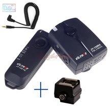 Déclencheur d'obturateur de télécommande sans fil + adaptateur de chaussure chaude pour Sony A100 A200 A300 A350 A700 Minolta a7d/a5d appareil photo numérique DSLR