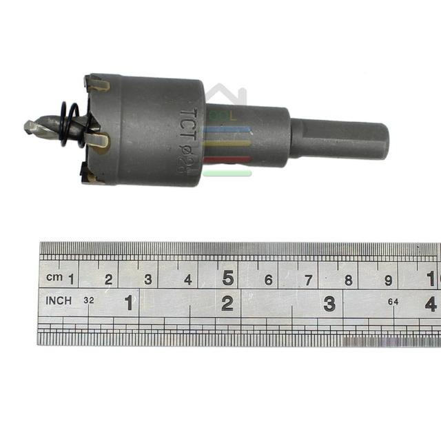 Drill Bit TCT Hole Saw Set for Stainless Steel Metal Alloy Drilling High Quailty New 15-100mm Carbide Tip