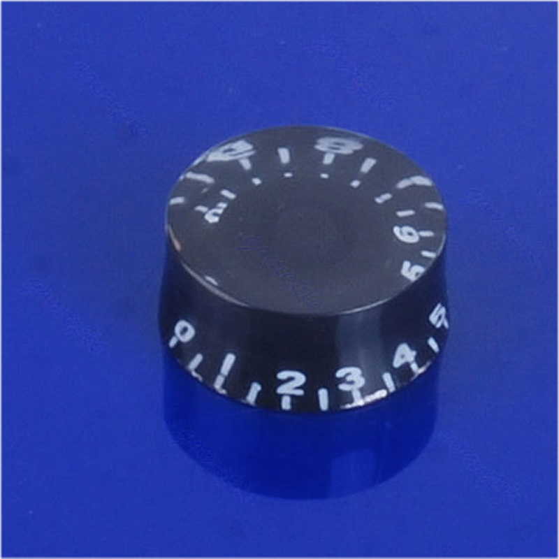 Hot Sell 10pcs/lot Speed Control Knob Numerals For Electric Guitar Part Free Shipping hot sell st electric guitar pickups and circuit boards white colour real photos free shipping wholesale
