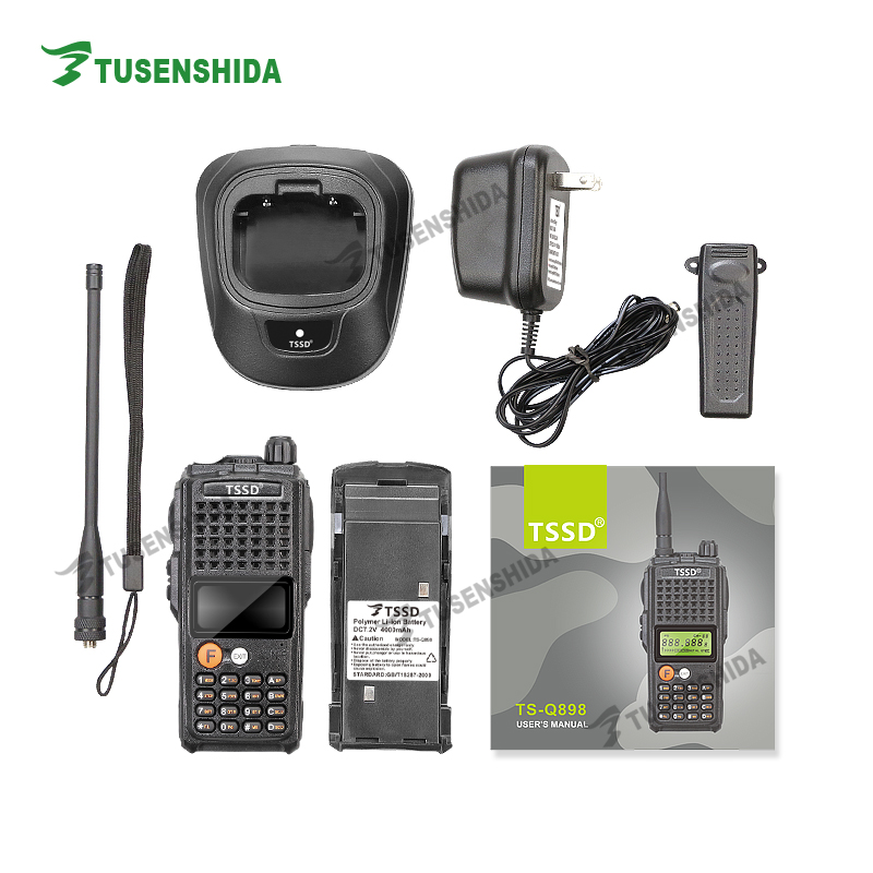 New Arrival Powerful 10W Ultra Long Distance UHF 400-470MHZ Ham Walkie Talkie For Hunting Travelling Camping