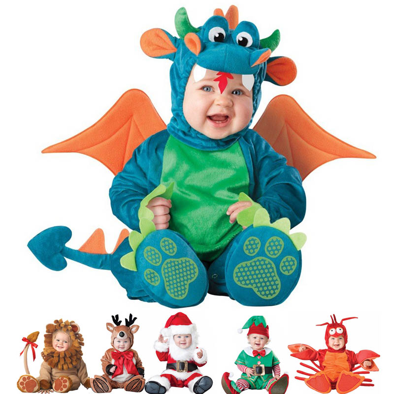 sc 1 st  Costumix & Newborn Pirate Dinosaur Penguin Santa Costume