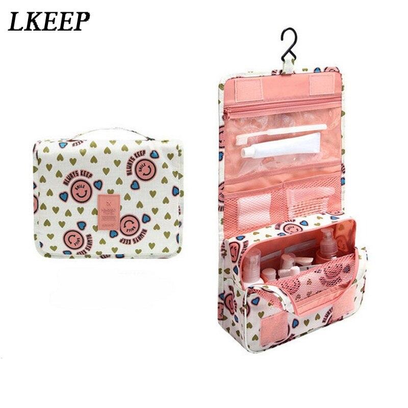 Organizer Cosmetic-Bag Hanging-Type Multifunction Large-Capacity Portable Women Fashion