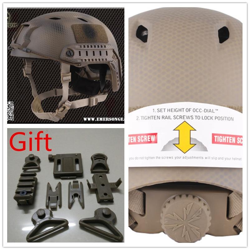 Эмерсон быстро шлем Тип БЖ Seal ВМС США специальная версия EM5659C Бесплатная доставка