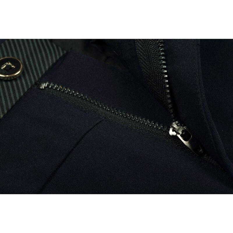 Enjeolon бренд довгі брюки чоловічі чорні - Чоловічий одяг - фото 4