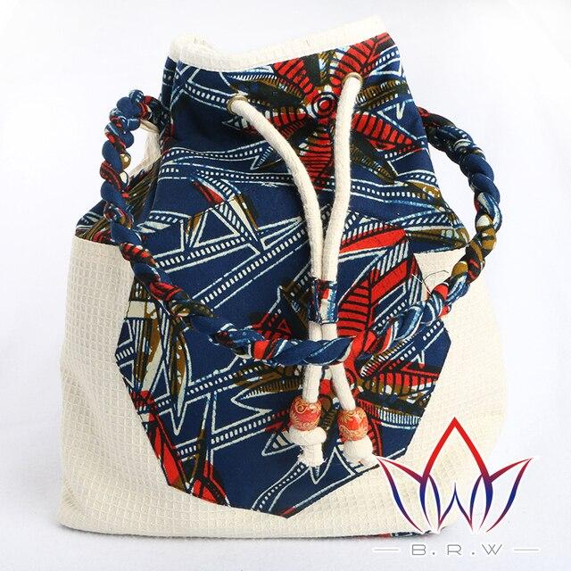 new desigen Women's Canvas Handbag 2018  Vintage Tote Bag Lady's Print Shopping Bag Tote Travel single Shoulder Bag WYA172