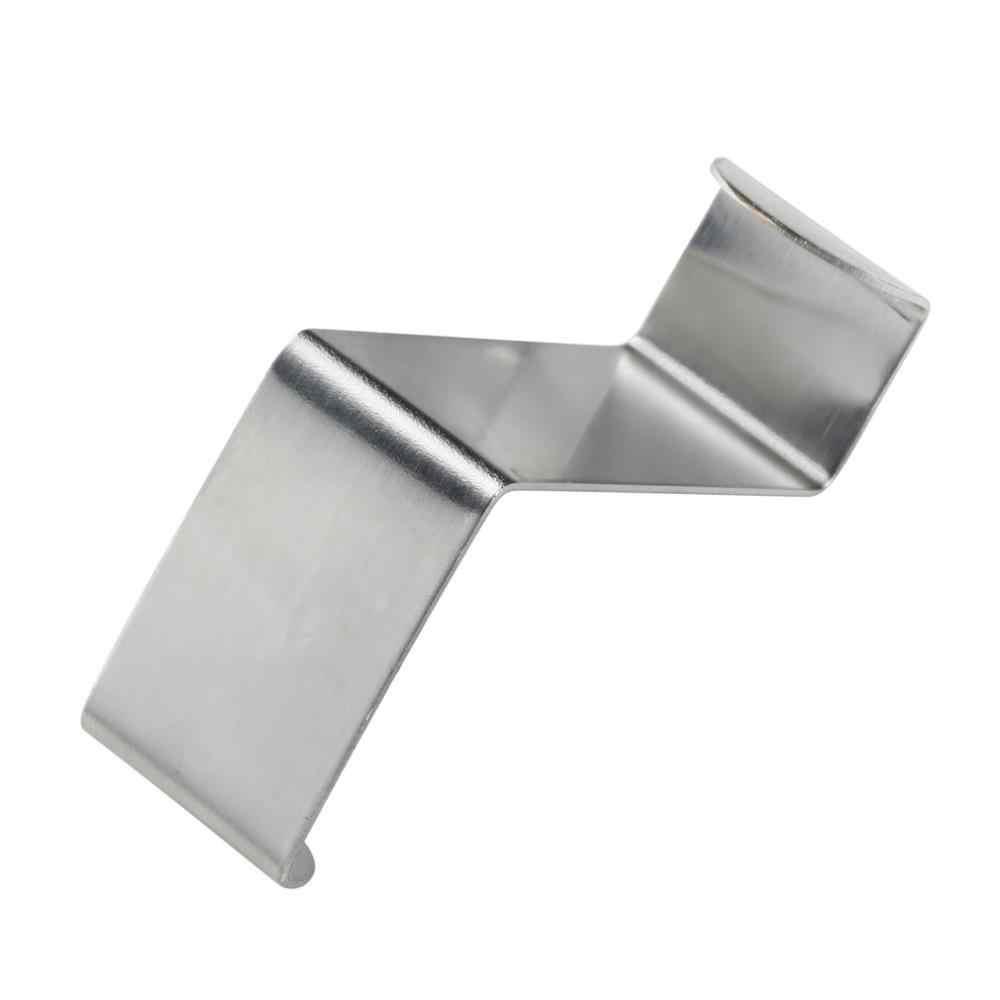 2 piezas de acero inoxidable, armario de cocina, ganchos para dibujar, armario de cocina, ropa de toalla, soporte para colgar ropa