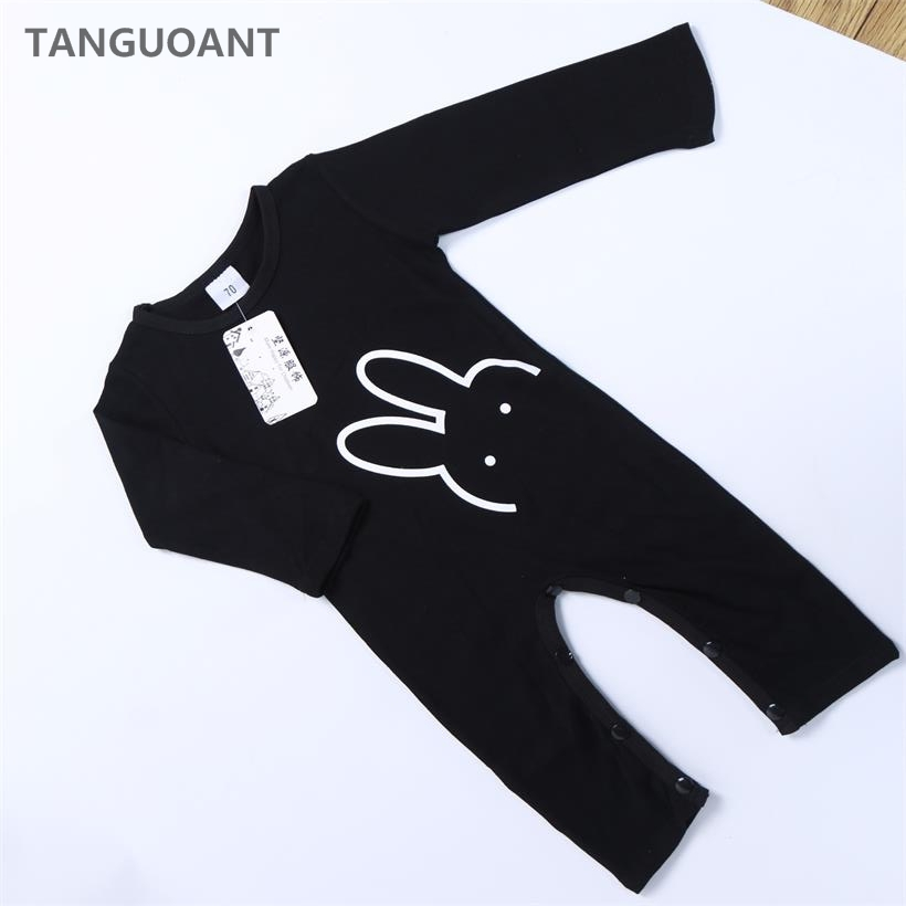 New Arrival Baby Newborn clothes, Long sleeve Baby   rompers  , Animal Rabbit Printed Baby boy and girl   Romper
