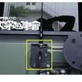 Горячие продажи Авто Запасное колесо CB Высокое Качество Крепления Антенны для 2007-2015 Jeep Wrangler Jk 2/4 Двери Антенна Автомобиля Хвост Рамка двери