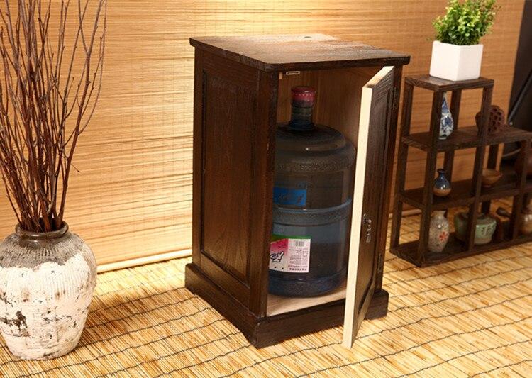 Japonais Antique en bois armoire à thé Paulownia bois asiatique meubles traditionnels salon tiroir armoire de rangement - 3