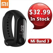 """In Inventory Xiaomi Mi Band Three Good Wristband health tracker Bracelet 0.78"""" OLED Show Touchpad Bluetooth 4.2 For Android IOS"""