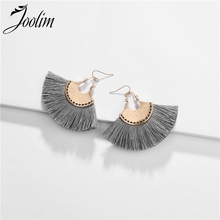 Joolim Antique Gold Tassel Drop Earring Dangle