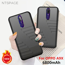 NTSPACE 6800mAh Battery Charger Cases For OPPO A9X Power Case Ultra Slim Portable Bank Cover Rechargeable